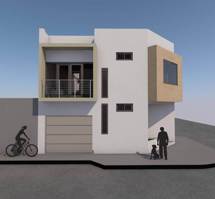 Casa GS:  de estilo  por MG Arquitectura y Diseño