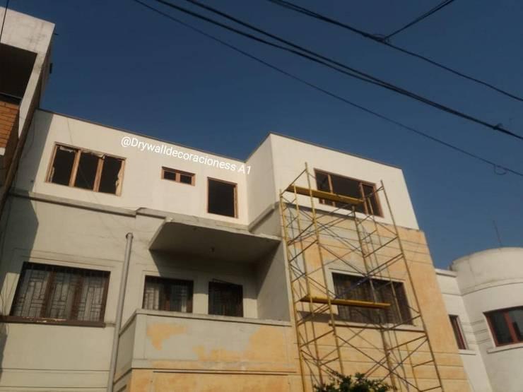 Ampliación en Drywall, Miraflores :  de estilo  por Drywalldecoracioness A1