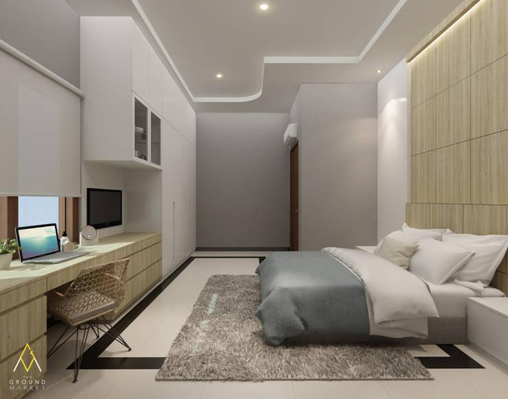 Kids Bedroom: Kamar tidur anak oleh The Ground Market,