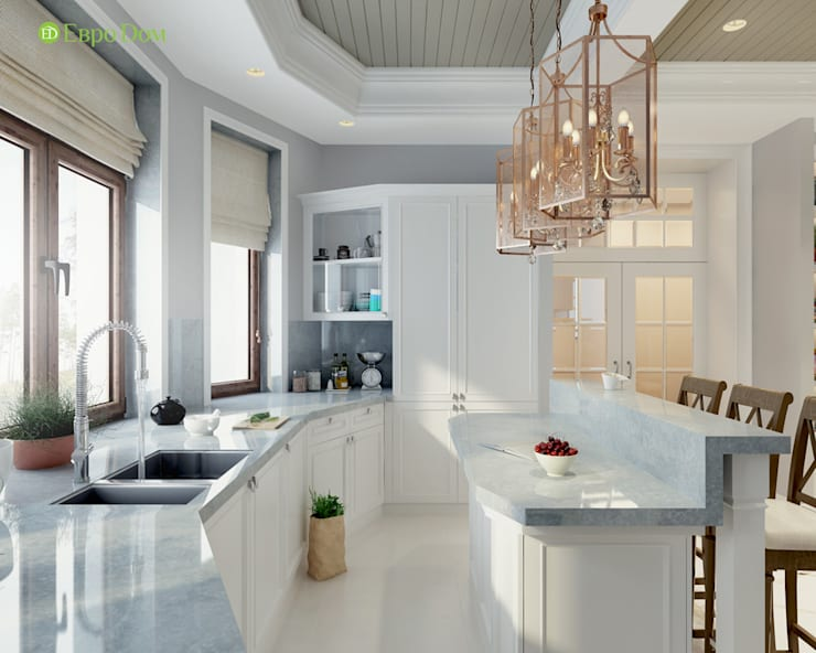 Kitchen by ЕвроДом, Classic