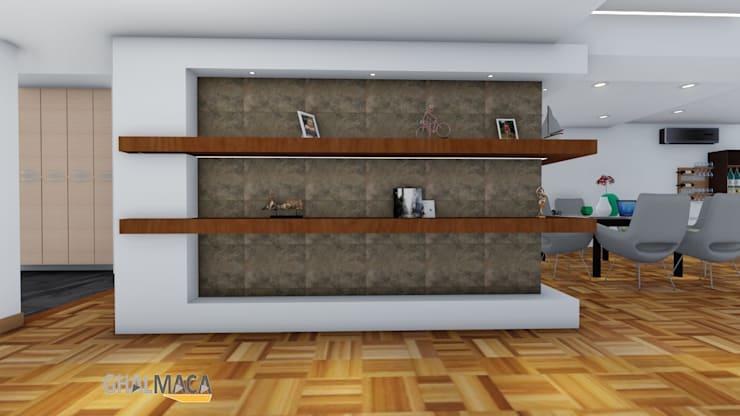 modern  by Vida Arquitectura, Modern Wood Wood effect