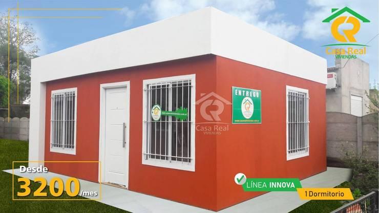 CASAS PREFABRICADAS LINEA INNOVA: Casas prefabricadas de estilo  por Casa Real Viviendas,
