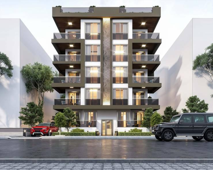 ANTE MİMARLIK  – Key Yapı:  tarz Apartman,