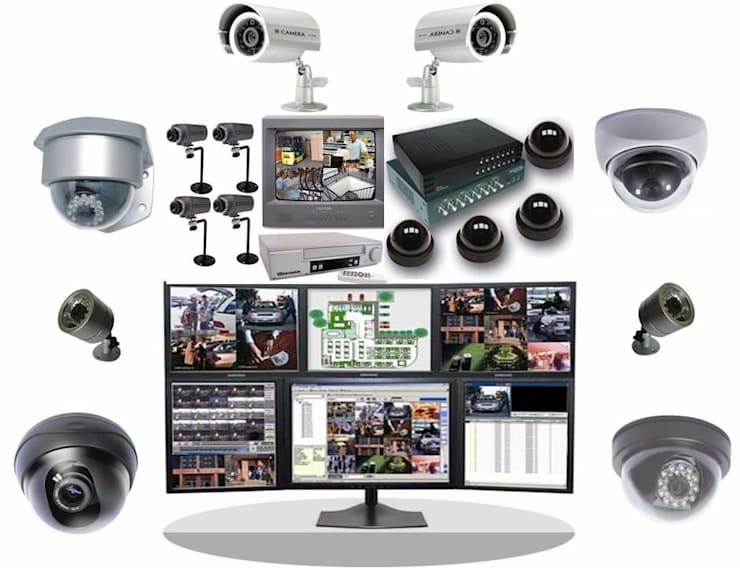 Sistema de CCTV:  de estilo  por Ingeniería e Integraciones Tecnológicas