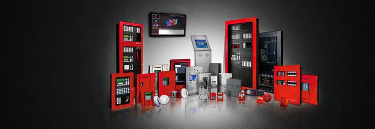 Sistema de Incendio:  de estilo  por Ingeniería e Integraciones Tecnológicas