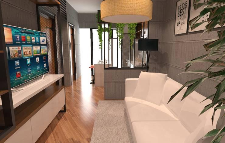 Ruang tengah: Living room oleh SARAÈ Interior Design,