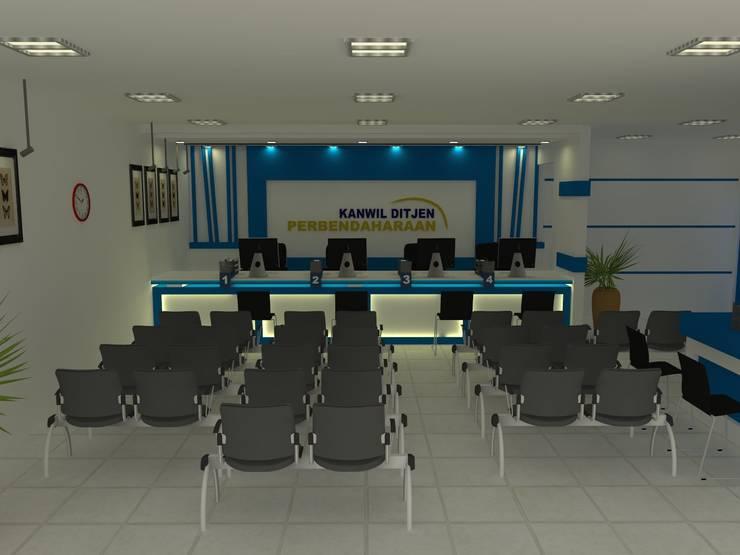 Interior KANWIL DIRJEN PEBENDAHARAAN, Jayapura:   by khairulmahfudz Architect Interior