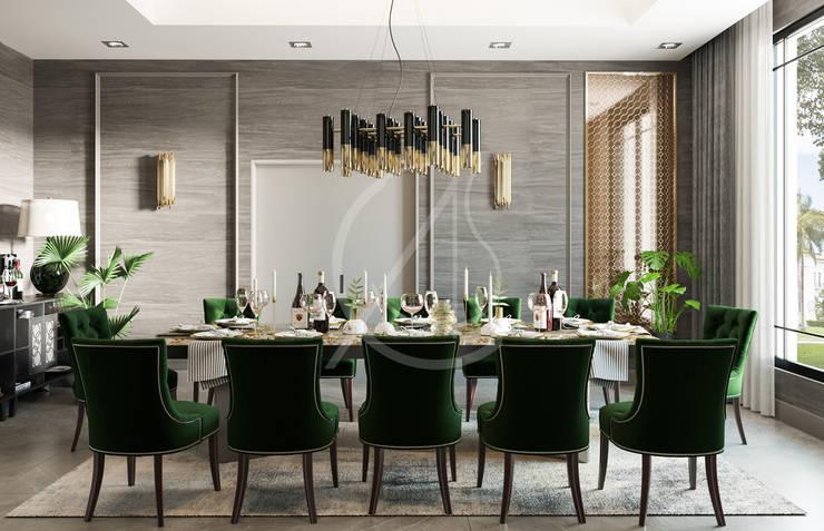 Comedores de estilo  de Comelite Architecture, Structure and Interior Design