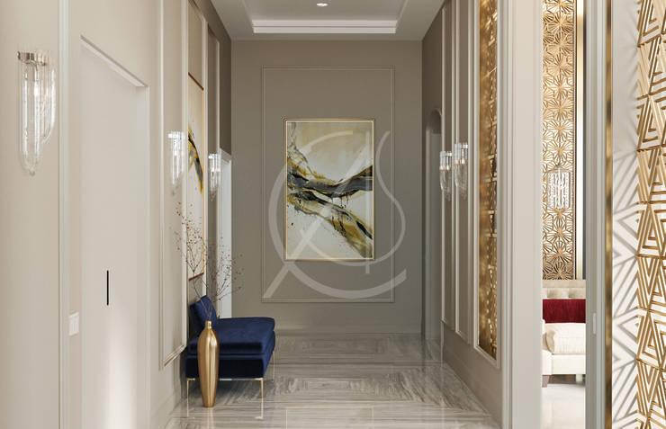 Pasillos y vestíbulos de estilo  de Comelite Architecture, Structure and Interior Design