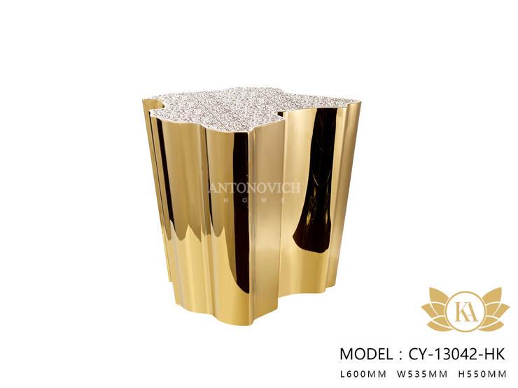 Elegant Gold Home Decor and Accessories:   by Luxury Antonovich Design,