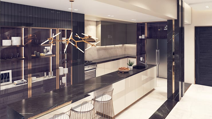 Kitchen by ICONIC DESIGN STUDIO, Modern