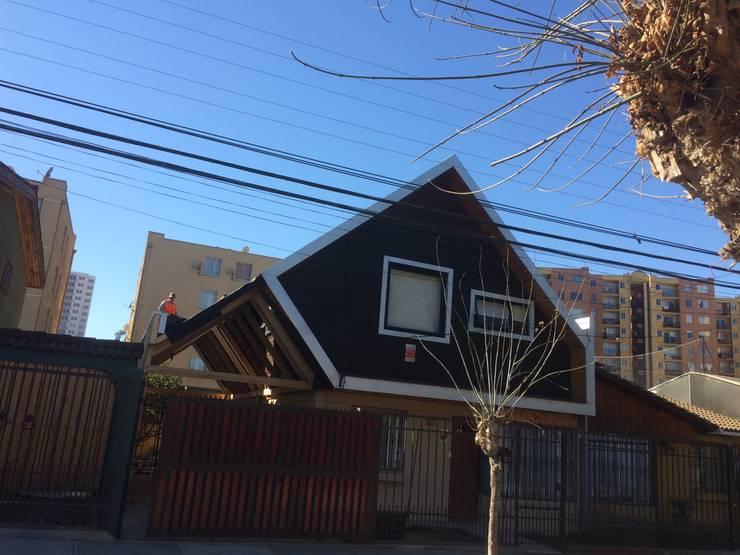 Casa ov: Casas de estilo  por corner