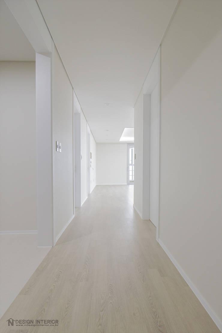 동탄인테리어 46평 동탄메타폴리스 주상복합 아파트인테리어 by.n디자인인테리어 : N디자인 인테리어의  욕실,