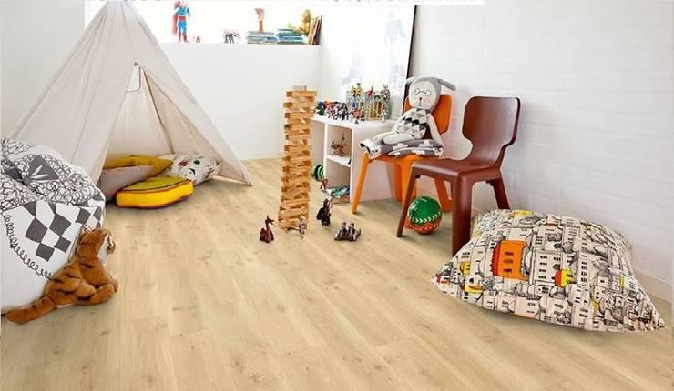 Sàn Gỗ LeoWood L85:  Nursery/kid's room by Manh Tri