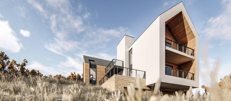 Portafolio: Casas de estilo  por GOOD visuals