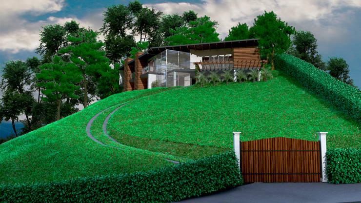 Casa Ocampo: Casas de estilo  por Dima Arquitectos s.a.s
