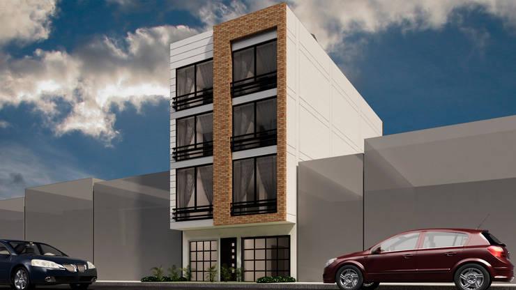 Casas estilo moderno: ideas, arquitectura e imágenes de Dima Arquitectos s.a.s Moderno