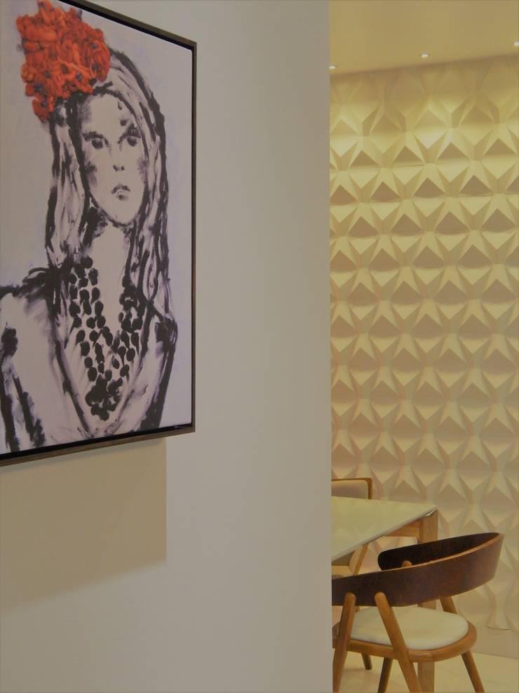 Detalhes que fazem a diferença Corredores, halls e escadas modernos por Izabella Biancardine Interiores Moderno