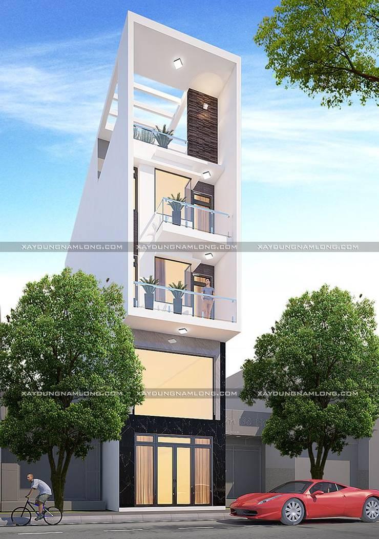 Thiết kế nhà rộng 5m dài 15m:   by Công ty xây dựng nhà đẹp mới