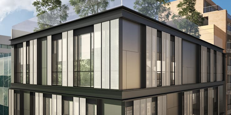 Hotel Orostegui: Spa de estilo  por Mega Ciudades Arquitectura & Urbanismo, Moderno
