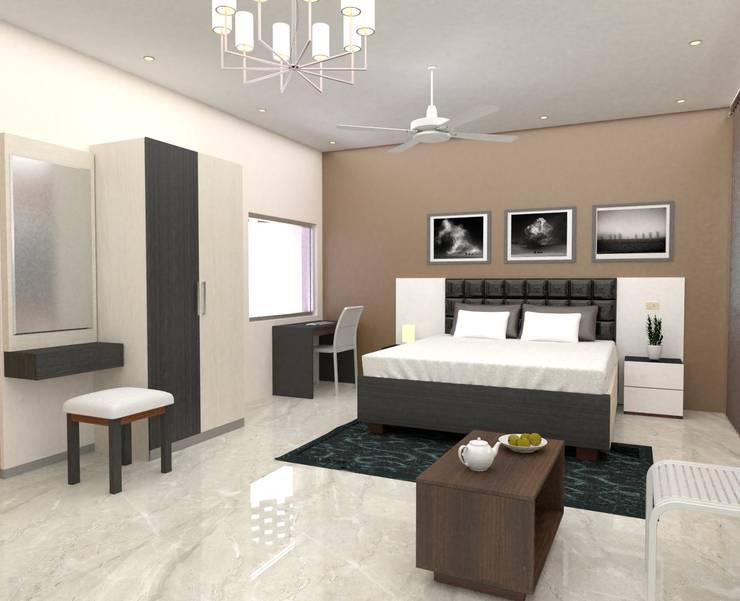 modern  by Brahmaa Interiors, Modern
