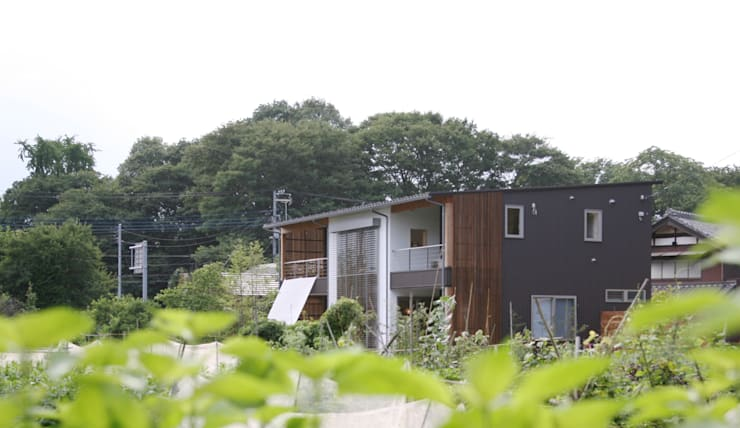 Houses by 株式会社高野設計工房, Scandinavian