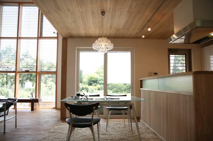 Dining room by 株式会社高野設計工房, Scandinavian