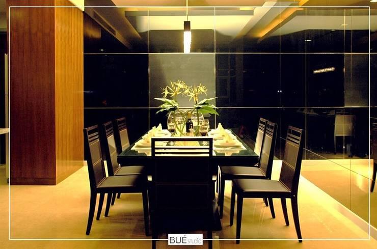 Dining room by Bue Studio Co.,Ltd., Modern