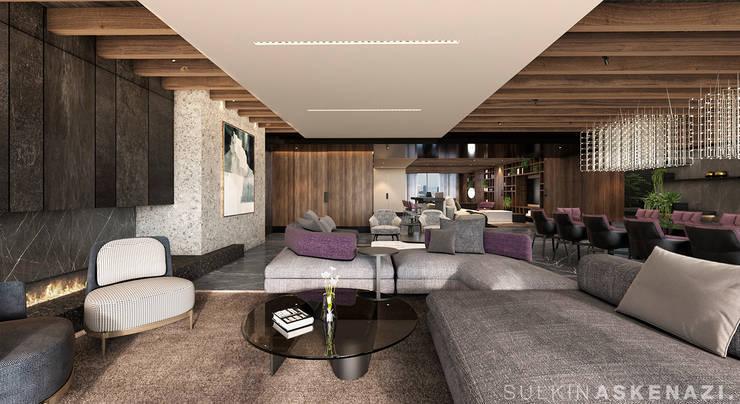 Living room by Sulkin Askenazi, Modern