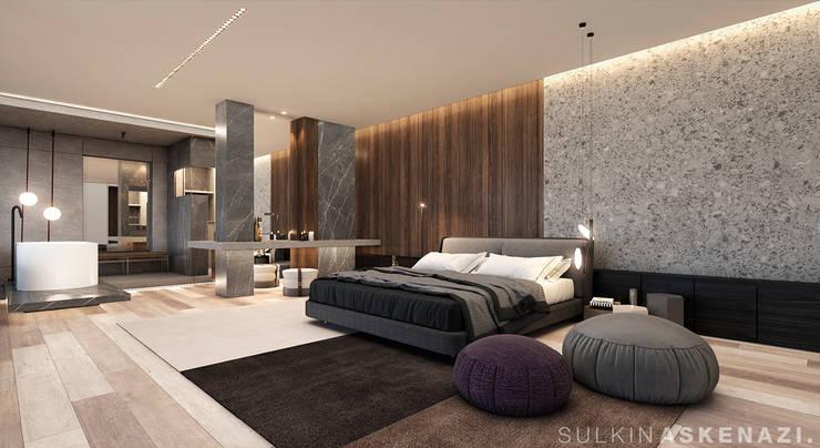 Small bedroom by Sulkin Askenazi, Modern