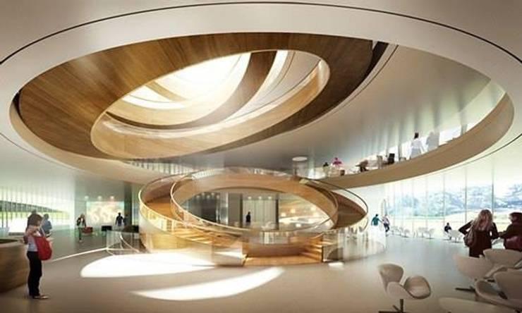 Pisos de estilo  por erenyan mimarlık proje&tasarım, Minimalista Aluminio/Cinc