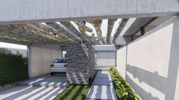 Houses by ARBOL Arquitectos , Rustic