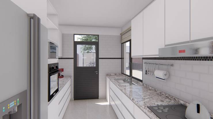 廚房 by ARBOL Arquitectos , 簡約風
