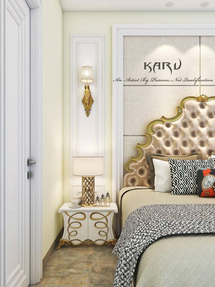 BED:  Bedroom by KARU AN ARTIST