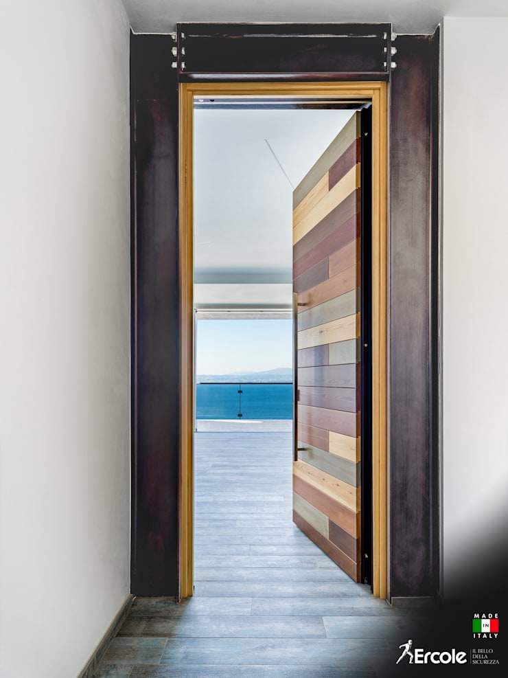 Front doors by Ercole Srl, Modern
