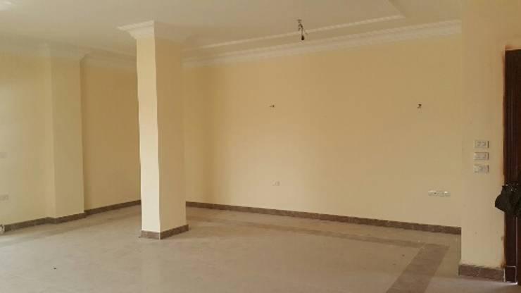صوره توضح مشكله وجود العمود في هذا المكان :   تنفيذ Authentic for interior designs