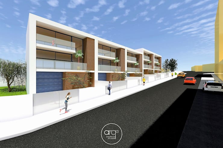 Single family home by arcq.o | rui costa & simão ferreira arquitectos, Lda., Modern