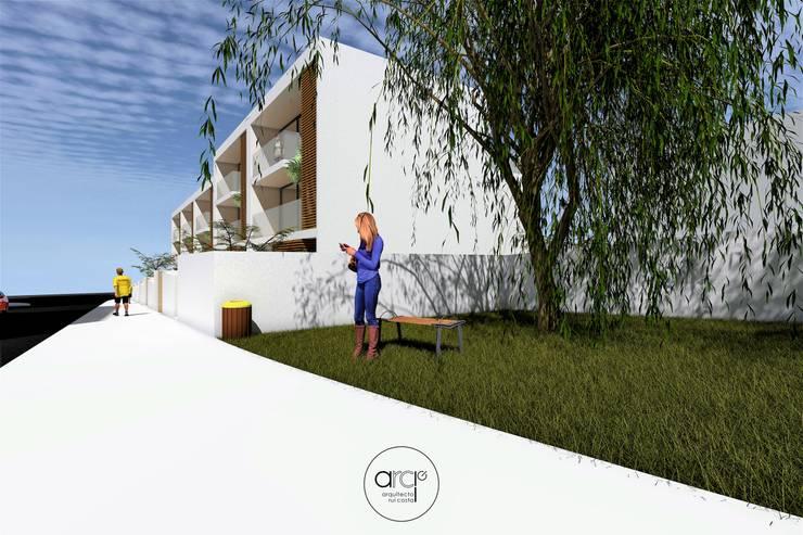 Houses by arcq.o | rui costa & simão ferreira arquitectos, Lda., Modern