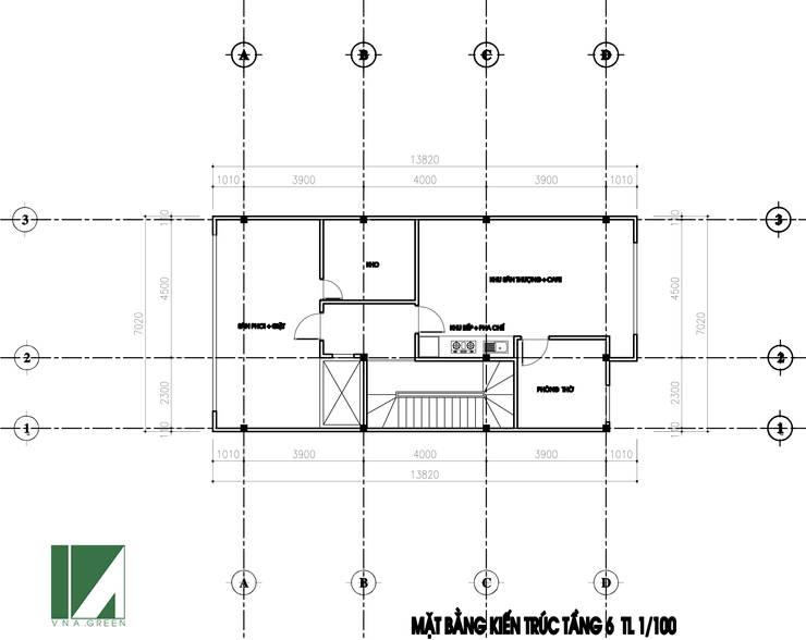 CĂN HỘ CHO CHUYÊN GIA THUÊ 7 TẦNG:   by công ty cổ phần Thiết kế Kiến trúc Việt Xanh