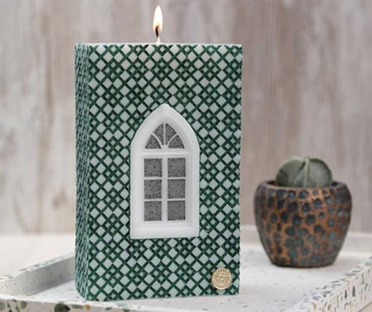 Lisbon Window Decorative Candle BE2ADORN: modern  by BE2ADORN-DECORATIVE CHARM CANDLES, Modern