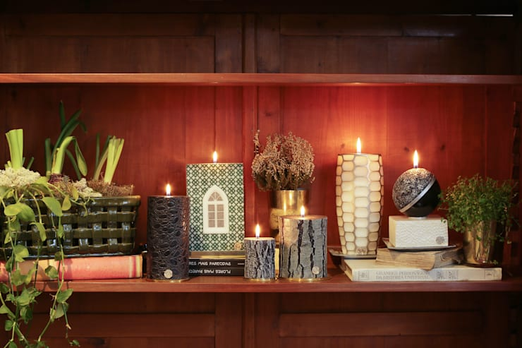 Luxury Unique Candles BE2ADORN: modern  by BE2ADORN-DECORATIVE CHARM CANDLES, Modern