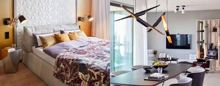 Small bedroom by DelightFULL, Modern Copper/Bronze/Brass