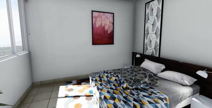 Habitaciones pequeñas de estilo  por Dic Arquitectos