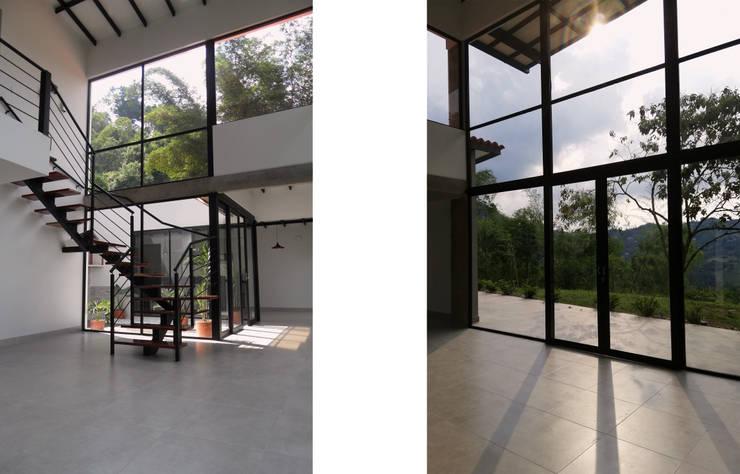 Diseño y Visualización: Escaleras de estilo  por Arquitectura y Visualización, Moderno