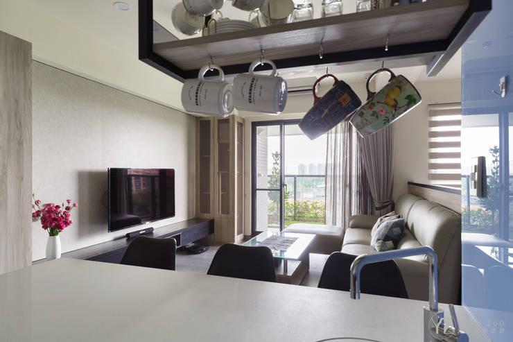 ห้องทานข้าว โดย 元作空間設計, โมเดิร์น