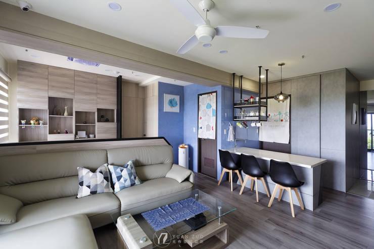 กำแพง โดย 元作空間設計, โมเดิร์น