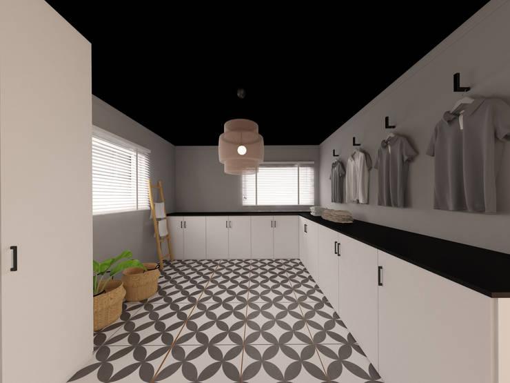 Garajes de estilo moderno de MIA arquitetos Moderno