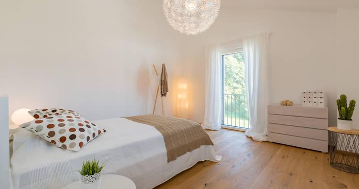 ห้องนอนเด็ก โดย Bau-Fritz GmbH & Co. KG, โมเดิร์น