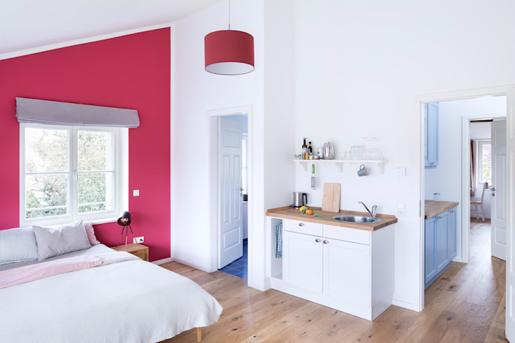 Small bedroom by Müllers Büro,