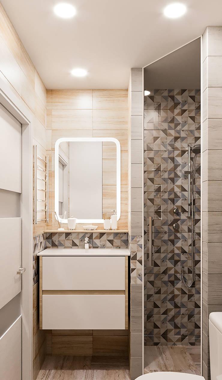 浴室 by DesArch Studio, 現代風